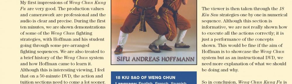 Review – Andreas Hofman's 18 Kiu Sao of Weng Chun