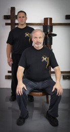 Sifu Caucci with Sifu Cravens