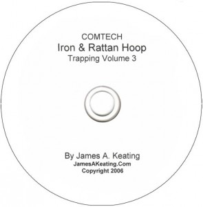 James Keating's Comtech Trapping Vol. 3 Iron and Rattan Ring Training DVD