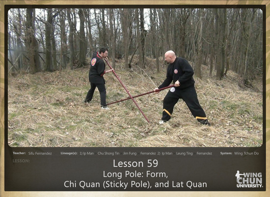 WCI Review - Sifu Fernandez - WingTchunDo - Lesson 59 - Long