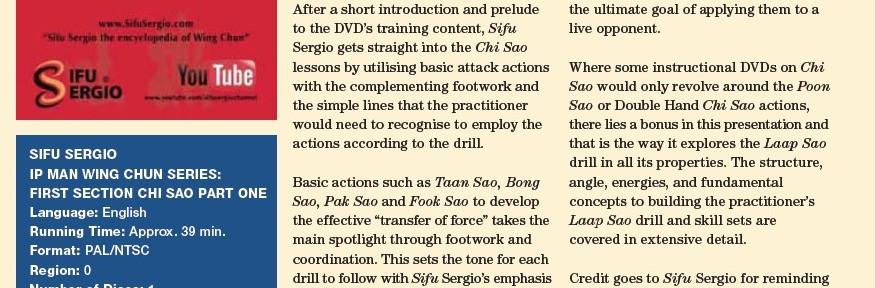 WCI Review - Sergio CS1