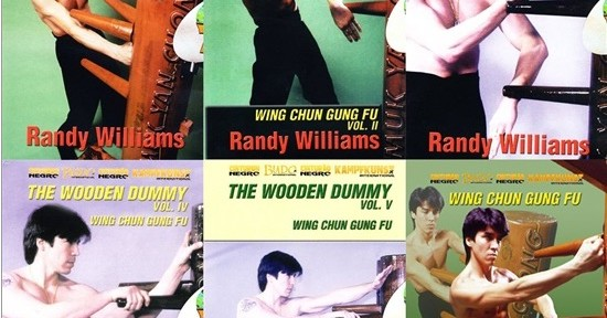 Review – Randy Williams – Wing Chun Wood Dummy – 6 DVDs