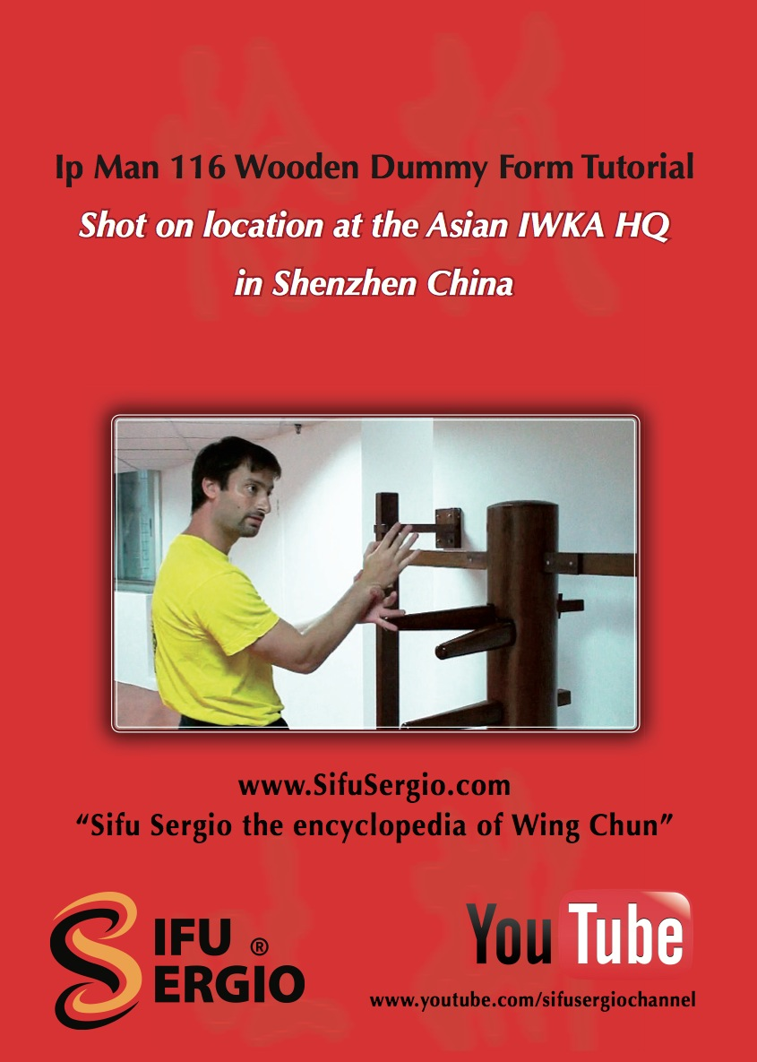 Wci Review Sifu Sergio 116 Wooden Dummy Form Everything Wing
