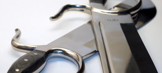 Integral Knives. Photo by Sifu Wayne Belonoha.