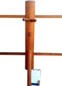 teak wooden dummy 2