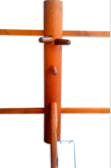 teak wooden dummy