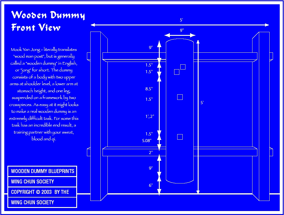 5 Wing Chun Dummy Blueprints Everything Wing Chun Blog